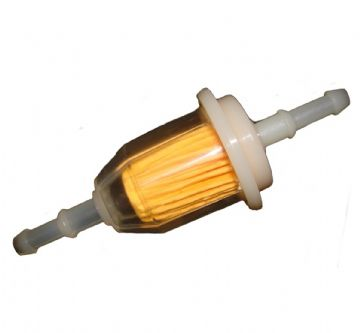 Universal Ride On Lawn Mower & Tractor Fuel Petrol In-Line Filter Part,  Type 1